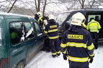 Nehody na sněhu a ledovce.