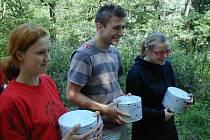 Letní dětský tábor v Branově navštívil Josef Pejchal a Kristýna Kociánová.