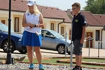 Olivia Prokopová a Pavel Mayer.
