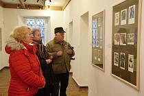 Slavnostní vernisáž výstavy Exlibris v Rabasově galerii Rakovník.