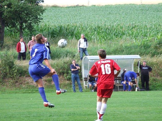 Foto z přátelského utkání