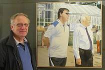 Výstava obrazů Karla Kellnera v Lánech