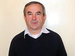 František Pazdera, člen okresního zahrádkářského svazu.