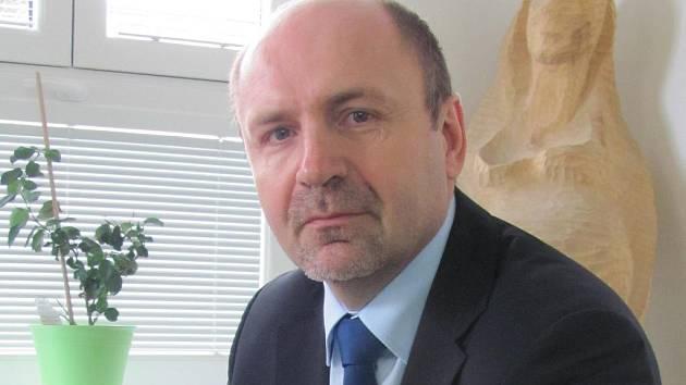 Ředitel rakovnické Masarykovy nemocnice Jaromír Bureš