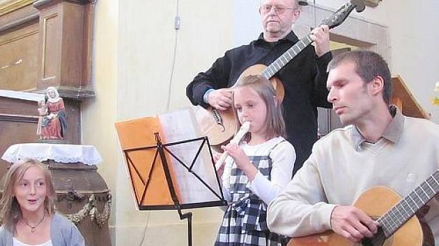 Koncert ve skryjském kostele