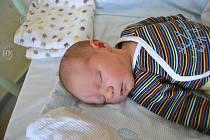 ALEXEJ CEDL, RAKOVNÍK. Narodil se 16. prosince 2018. Po porodu vážil 3,1 kg a měřil 49 cm. Rodiče jsou Veronika a Martin.