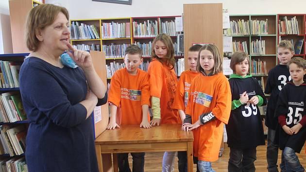 Žáci čtvrtého ročníku 3.ZŠ v Rakovníku soutěžili o Noc s Andersenem v Městské knihovně v Rakovníku.