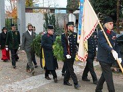 Spolek vojenských vysloužilců arcivévody Rainera vzdal poctu padlým vojákům ve Velké válce