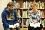 Listování v Rakovníku v roce 2019, kdy se představil pětatřicetiletý publicista Michal Kašpárek s novelou Hry bez hranic z roku 2018.