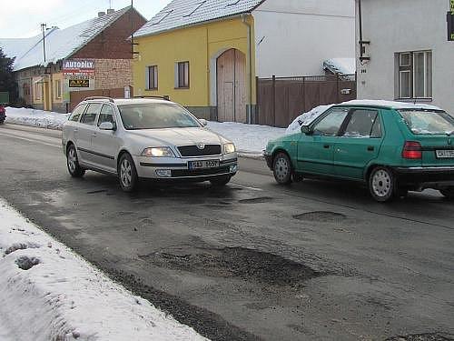 Silnice v Řevničově