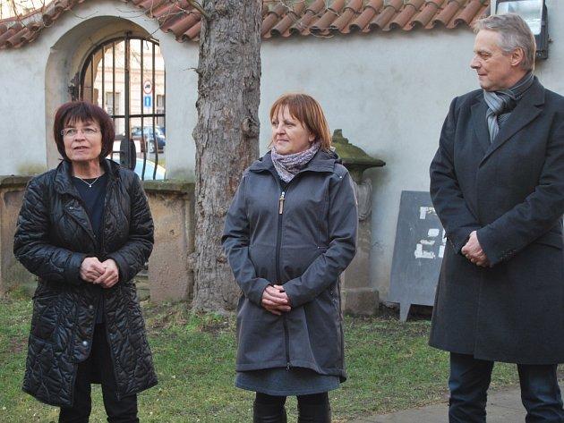 Zahájení roku Zikmunda Wintra na nádvoří rakovnického muzea