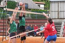 Krajské kolo ve volejbale dívek