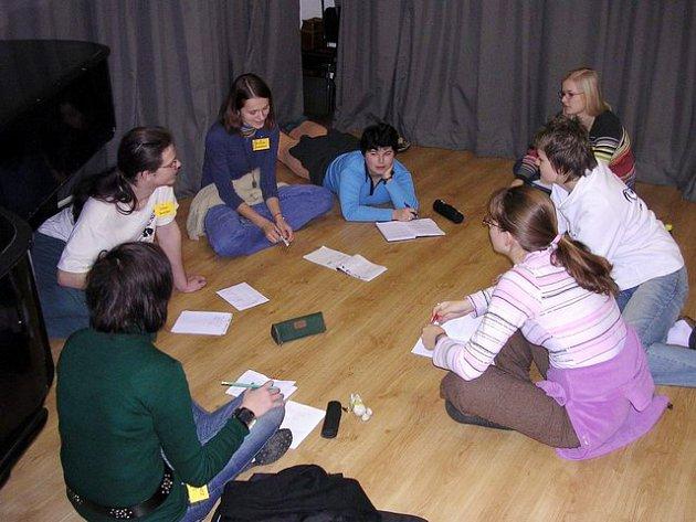 Festiválek jsou i semináře. Tento byl v roce 2005 na prvním ročníku.