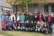 Studenti Masarykovy obchodní akademie Rakovník v Německu