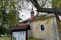 Kaple sv. Martina postupně prochází opravami.