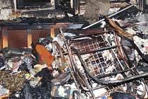 Oheň naštěstí nenapáchal větší škody