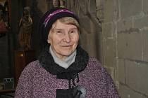 Barbara Romero na hradě Křivoklátě