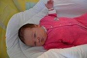 KAROLÍNA VALEŠOVÁ, KLADNO. Narodila se 8. ledna 2019. Po porodu vážila 4,1 kg a měřila 51 cm.Rodiče jsou Zuzana a Martin. Sestra Emička.