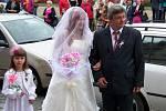 Svatba Simony Vrabcové a Jakuba Salamánka