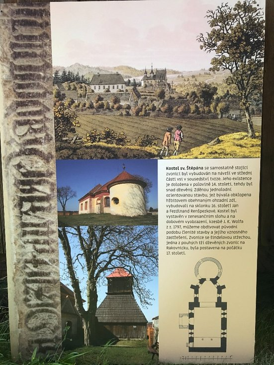 Kostel svatého Štěpána pohladily Obrázky pro Radost.
