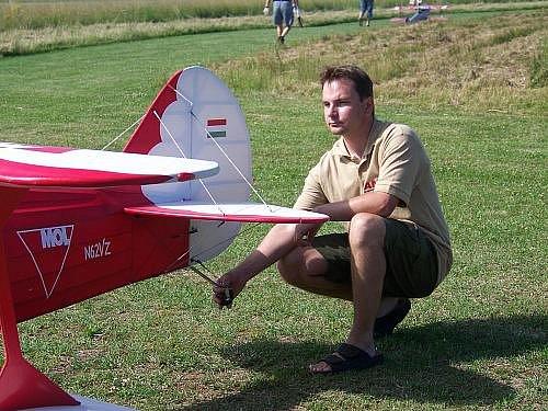 Soutěž leteckých modelářů kategorie velké makety