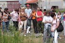Momentky ze stávky odborů KOVO v Rakovníku
