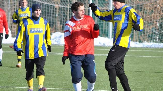 Tatran Rakovník - SK Rakovník - přátelské utkání, zima 2012