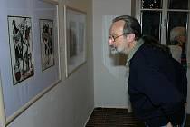 Výstava grafik Vladimíra Tesaře