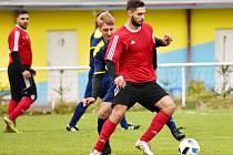 Fotbalisté Olešné zdolali v závěrečném podzimním kole okresního přeboru Jesenici 3:2.