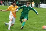 Fotbalisté rakovnického Tatranu prohráli v 6. kole divize s Hostouní 0:2.