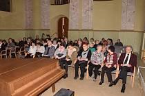 Pátý koncert Kruhu přátel hudby v Heroldově síni Rabasovy galerie v Rakovníku.