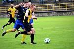 Divizní utkání Olympie Březová (ve žlutém) - SK Rakovník 2:1