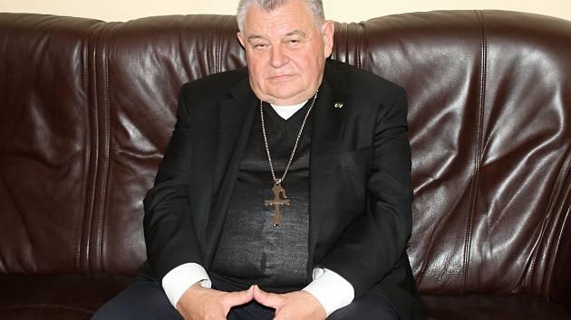 Pražský arcibiskup Dominik Duka navštívil rakovnickou radnici.