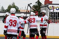 HBC Rakovník - Jindřichův Hradec, semifinále 1. NHbL 2016