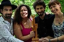 Festivalu Porta se v Lesním divadle v Řevnicích a vítězná skupina Lu´s &.