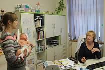 V ordinaci lékařky Jitky Mikšovicové