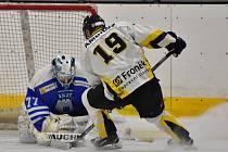 Hokejisté HC Rakovník v gólové přestřelce porazili Vlašim 8:7.