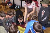 Kurs první pomoci pro žáky ZŠ