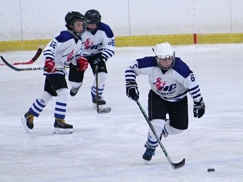 Mladší žáci HC Rakovník porazili Popovice 8:0.