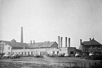 Rakovnická továrna Keram v době, když patřila pod Rakovnické keramické závody.