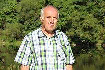 Vladimír Melč, starosta obce Roztoky v roce 2002.