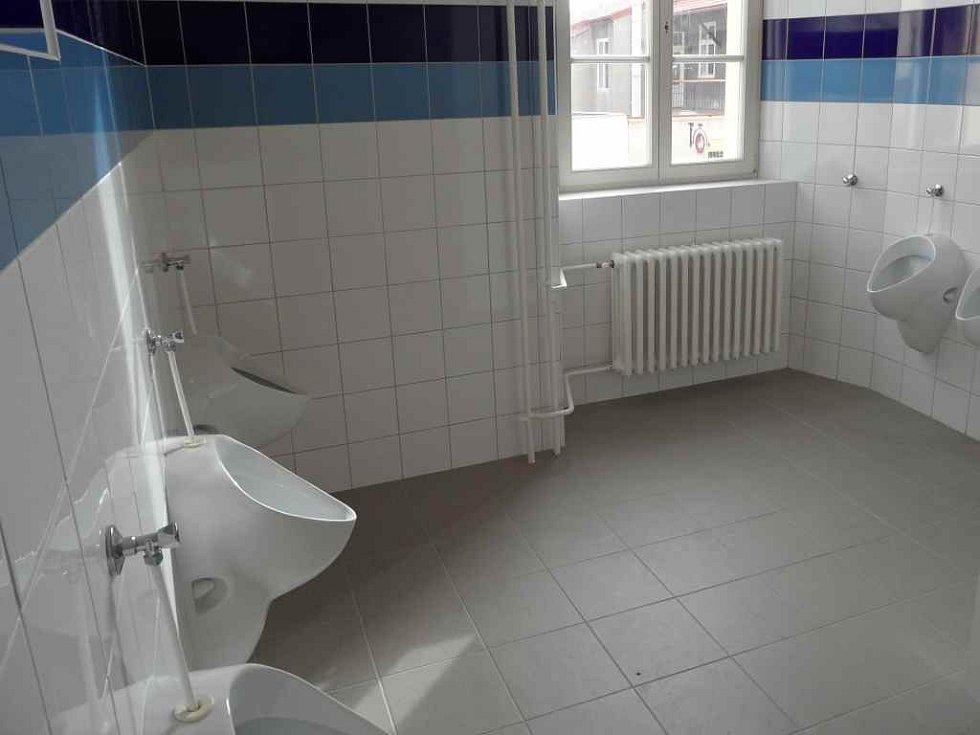 Nové toalety