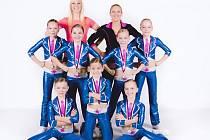 Aerobičky z Angels Rakovník získaly v Mladé Boleslavi několik medailí.