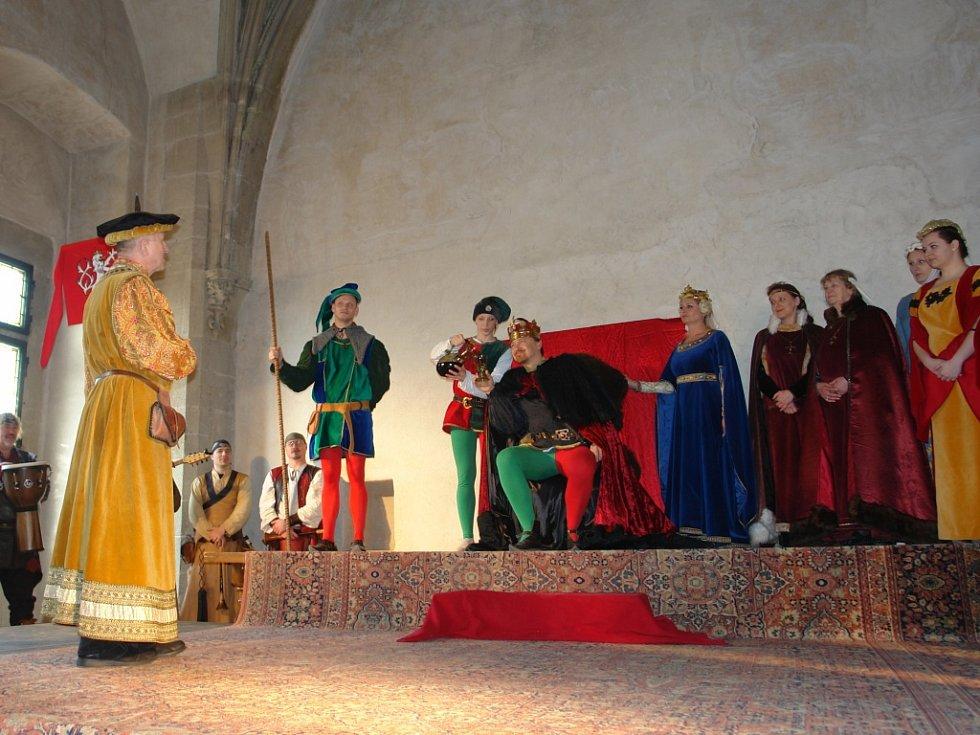 Velikonoce a hradě Křivoklátě