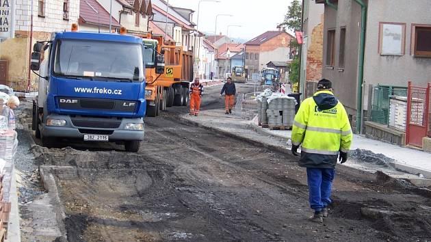 Rekonstrukce Vladislavovy ulice v Rakovníku