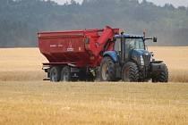 Traktor, ilustrační foto