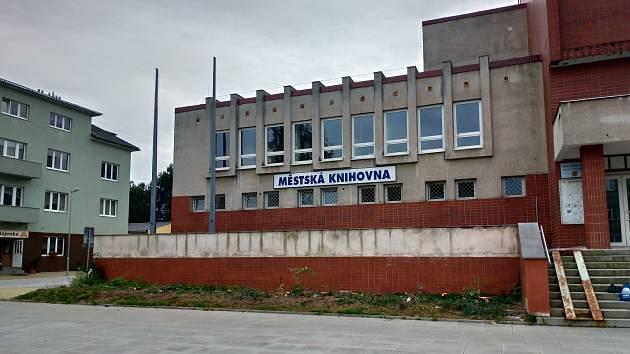 Městská knihovna Rakovník.