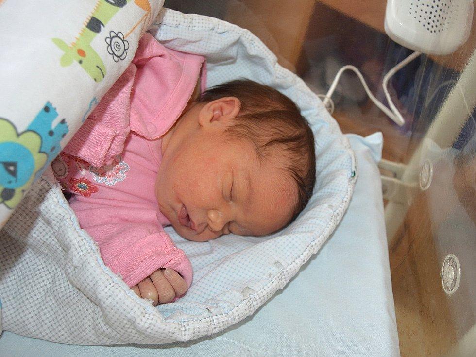 ALEXANDRA SRNKOVÁ, CITOLIBY. Narodila se 30. října 2018. Po porodu vážila 3,6 kg. Rodiče jsou Denisa a Jiří.