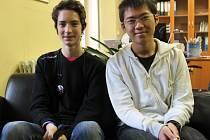 Ota Kšír a Kotaro Takahashi