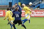 Z fotbalového utkání krajské I.B třídy SK Rakovník B - Lišany (6:1)